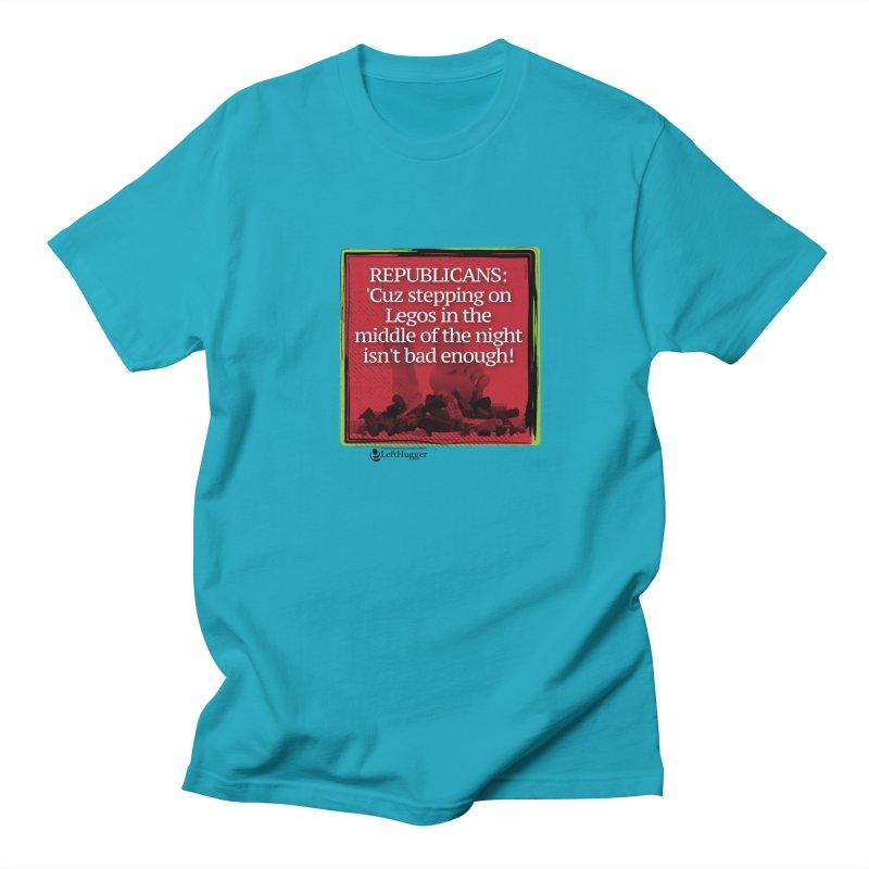 Republicans: Men's Regular T-Shirt by Lefthugger