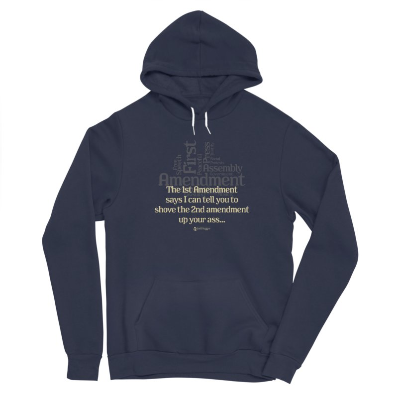 The 1st Amendment Men's Pullover Hoody by Lefthugger