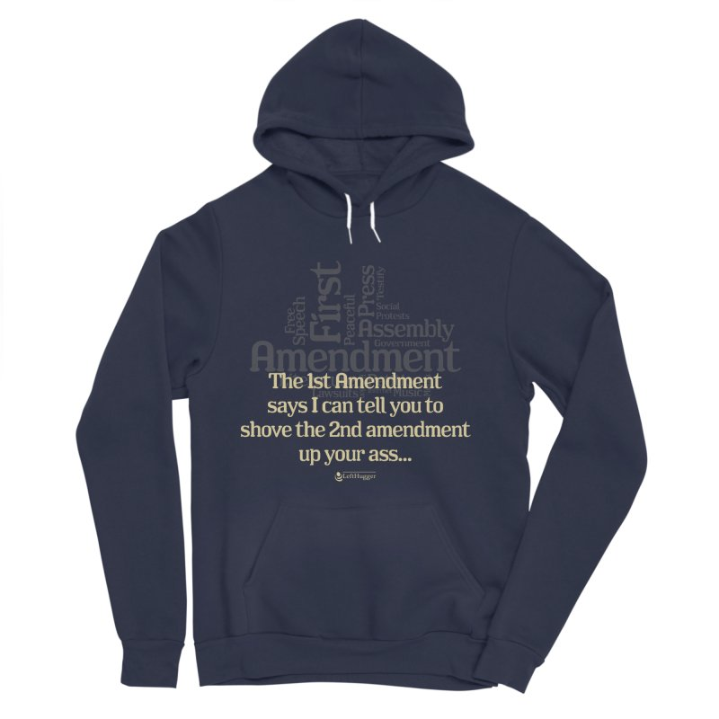 The 1st Amendment Women's Pullover Hoody by Lefthugger