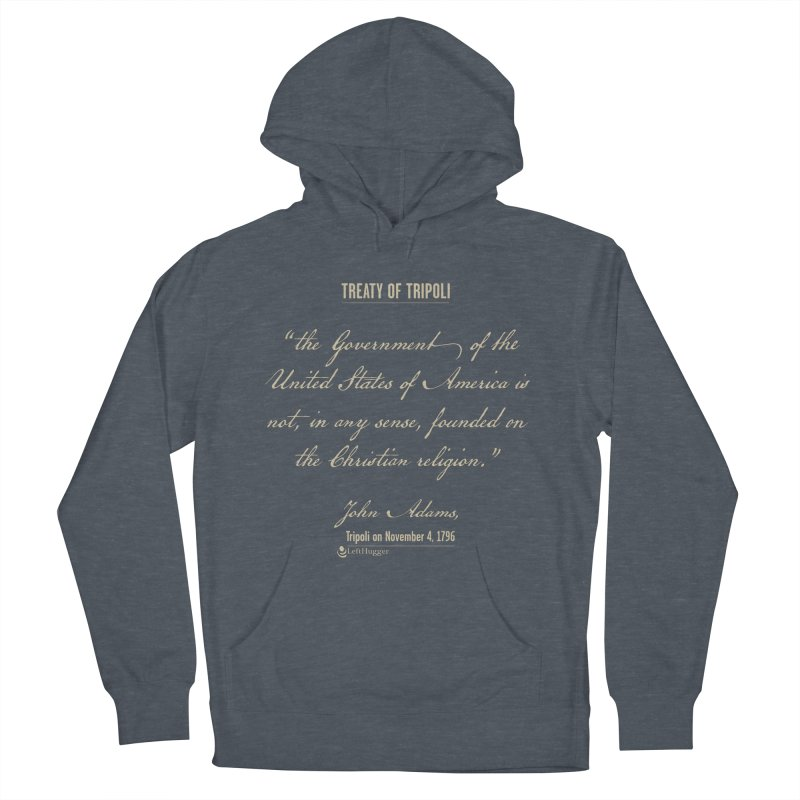 Treaty of Tripoli Women's French Terry Pullover Hoody by Lefthugger