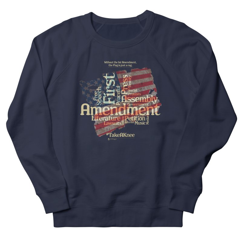 The Flag is just a rag... Women's Sweatshirt by Lefthugger