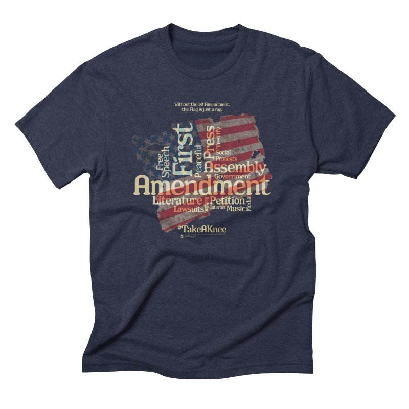 The Flag is just a rag... Men's Triblend T-Shirt by Lefthugger