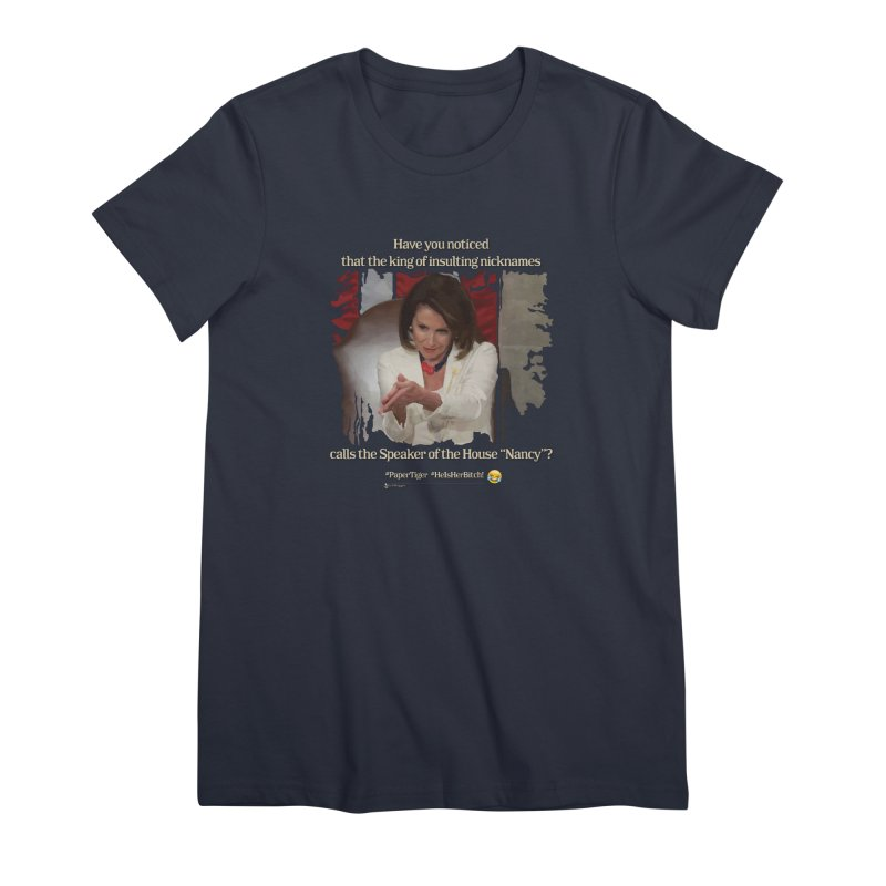 Nancy Women's Premium T-Shirt by Lefthugger