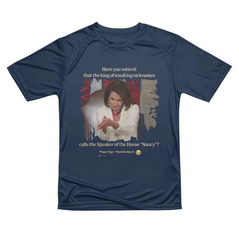 Nancy Men's Performance T-Shirt by Lefthugger