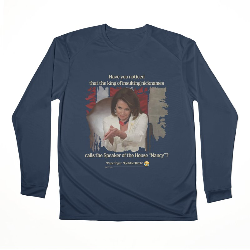 Nancy Men's Performance Longsleeve T-Shirt by Lefthugger