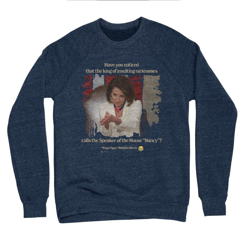 Nancy Women's Sponge Fleece Sweatshirt by Lefthugger
