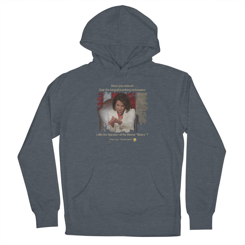Nancy Men's French Terry Pullover Hoody by Lefthugger