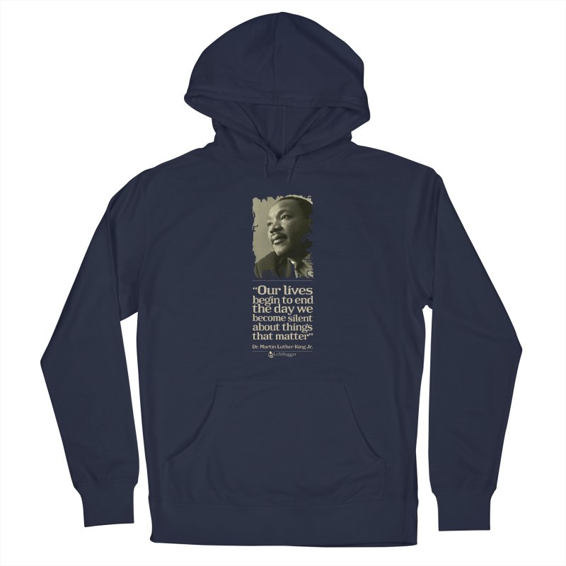 ...things that matter Women's French Terry Pullover Hoody by Lefthugger