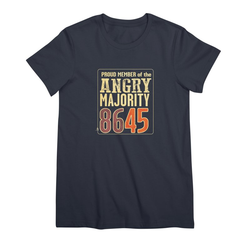 8645 Women's Premium T-Shirt by Lefthugger