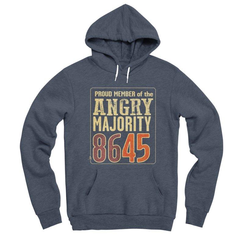 8645 Men's Sponge Fleece Pullover Hoody by Lefthugger