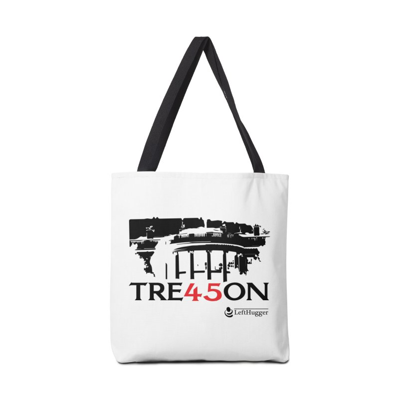TRE45SON 2018 - Black Accessories Tote Bag Bag by Lefthugger