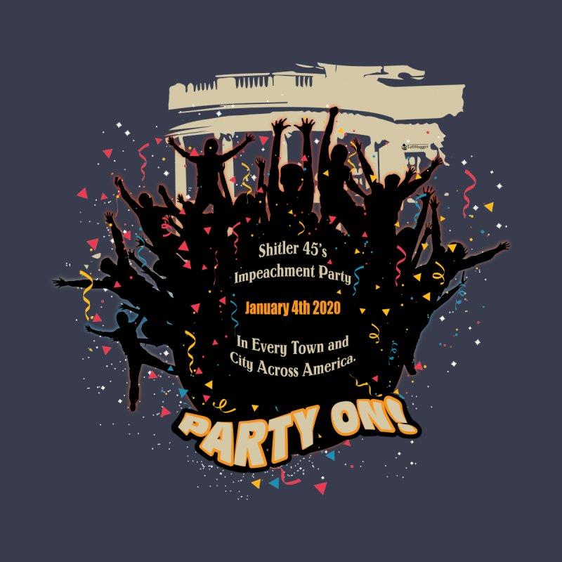 Shitler's Impeachment Party! Men's T-Shirt by Lefthugger