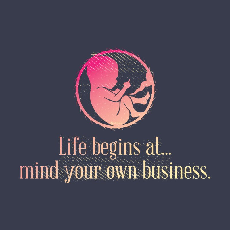 Life Begins at... Women's T-Shirt by Lefthugger
