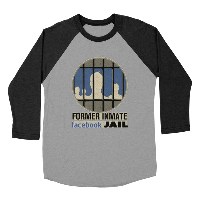 Former Inmate Facebook Jail Women's Baseball Triblend Longsleeve T-Shirt by Lefthugger