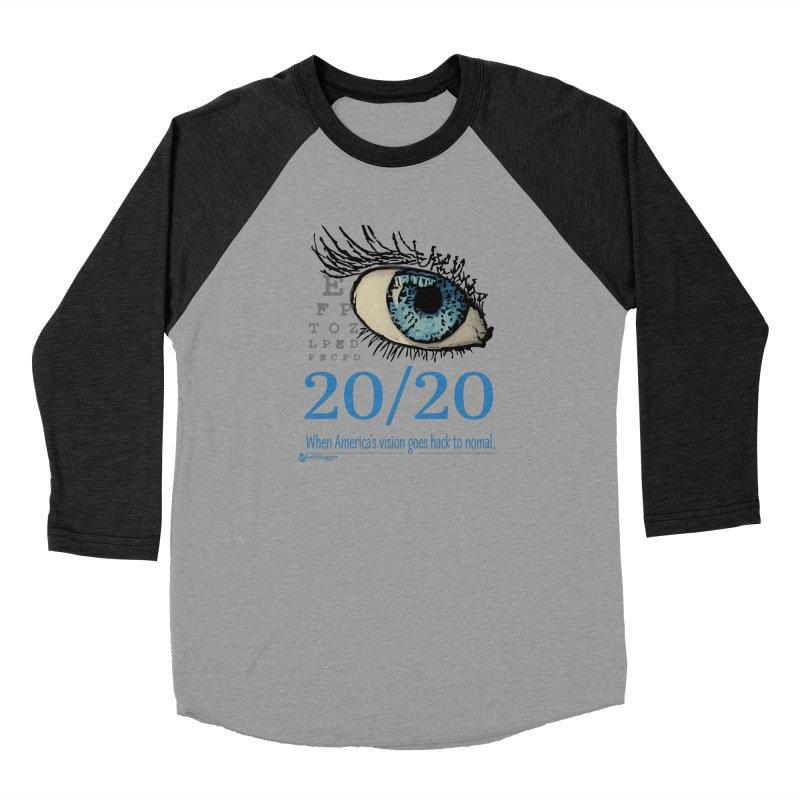 20/20 Women's Baseball Triblend Longsleeve T-Shirt by Lefthugger