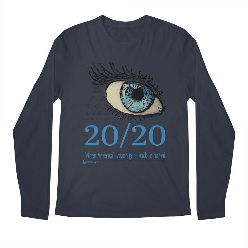 20/20 Men's Longsleeve T-Shirt by Lefthugger