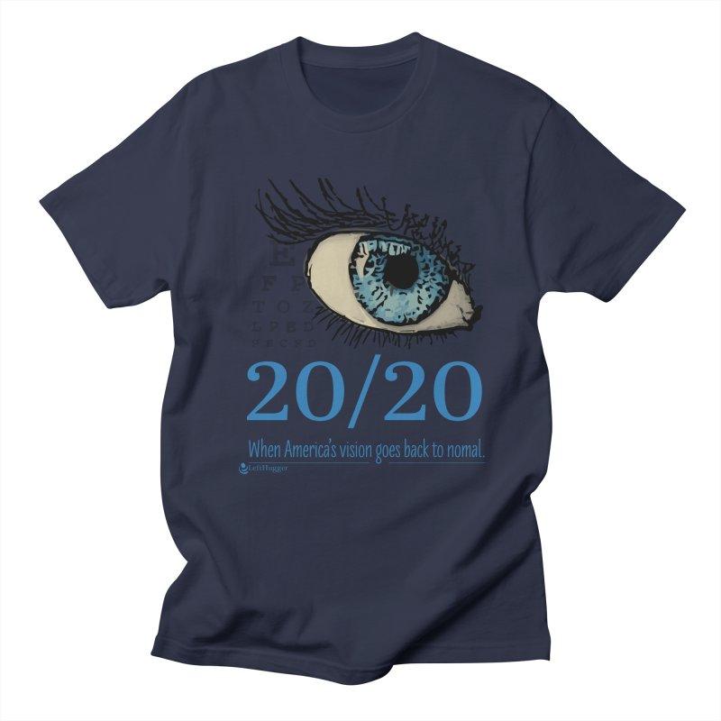 20/20 Men's T-Shirt by Lefthugger