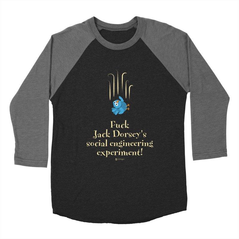 Fuck Jack Men's Baseball Triblend Longsleeve T-Shirt by Lefthugger