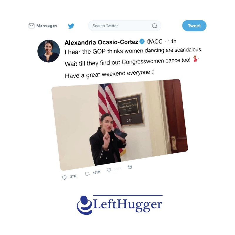 Dancer | Alexandria Ocasio-Cortez by Lefthugger