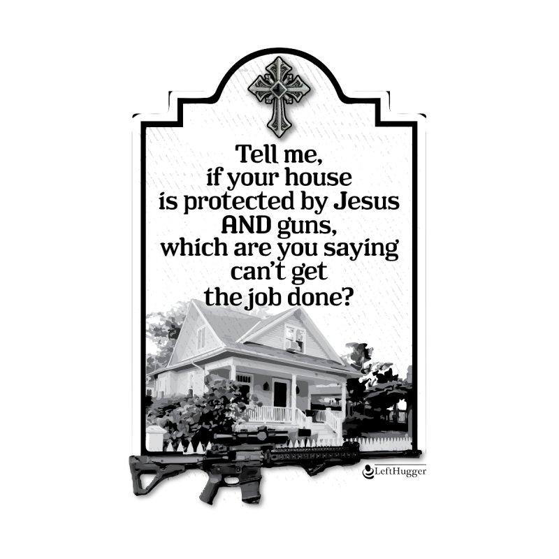 Jesus AND guns Women's Tank by Lefthugger