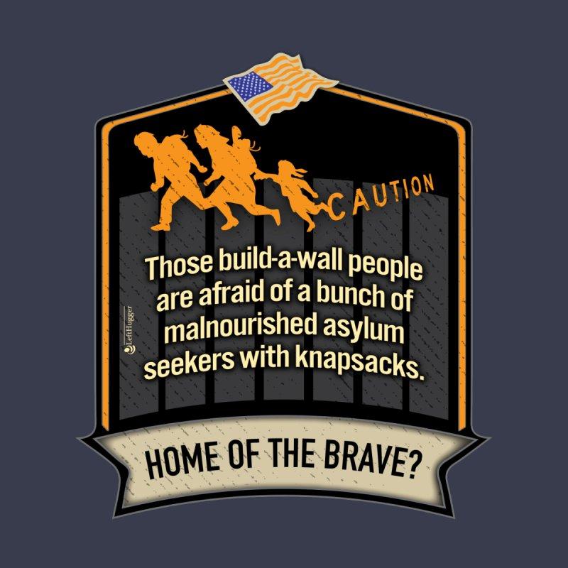 Home of the Brave? Women's Longsleeve T-Shirt by Lefthugger