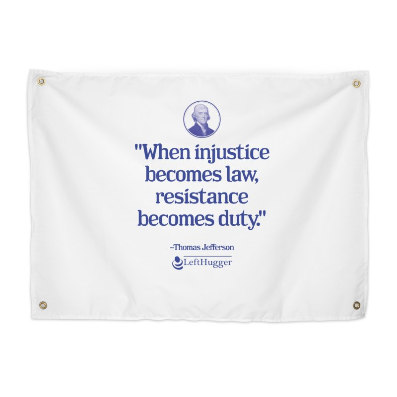 Resistance is Duty Home Tapestry by Lefthugger
