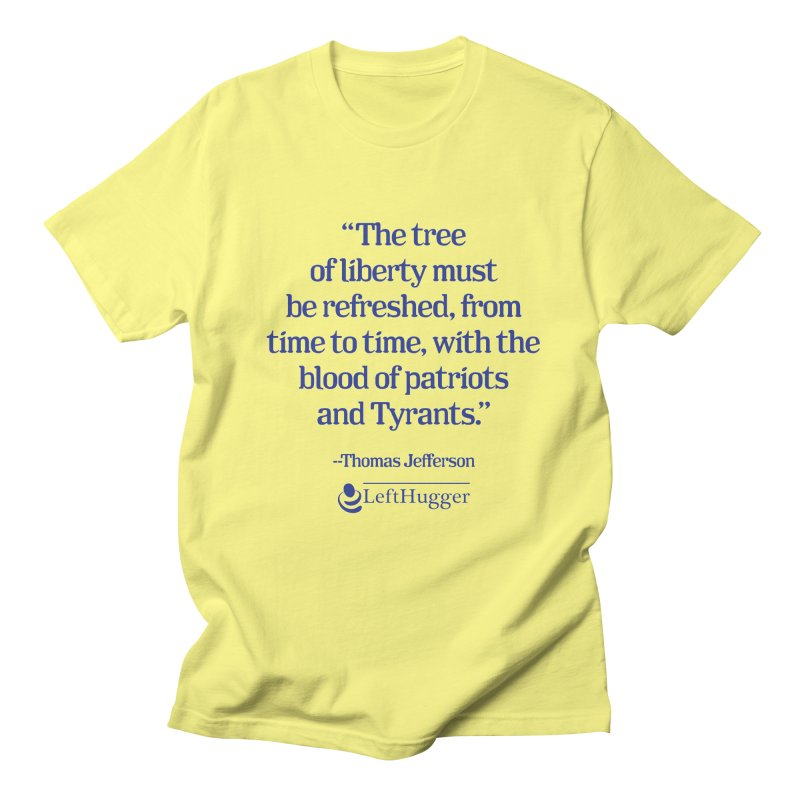 The tree of liberty Men's T-Shirt by Lefthugger