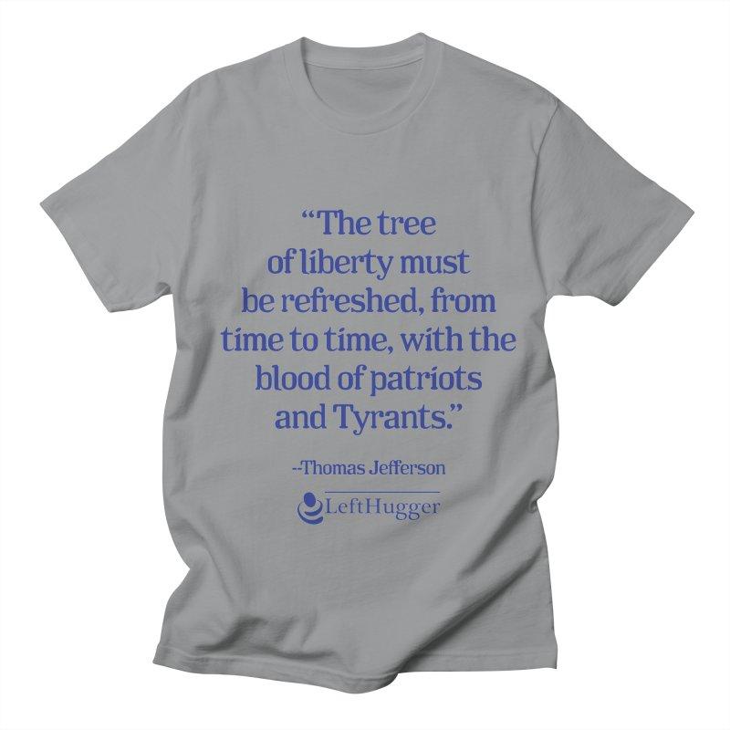 The tree of liberty Women's Regular Unisex T-Shirt by Lefthugger