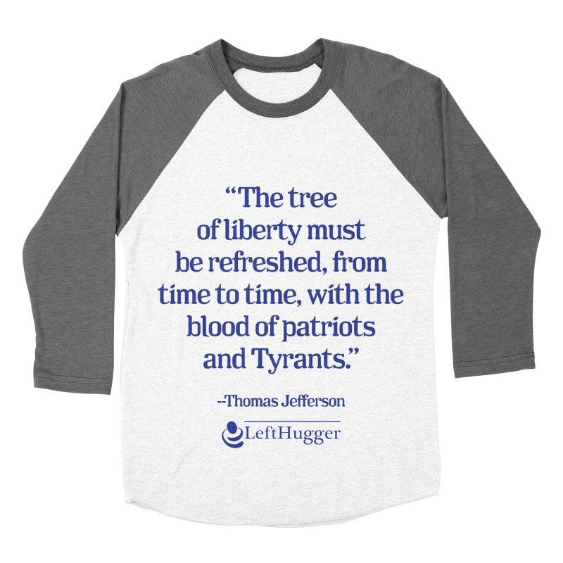 The tree of liberty Women's Baseball Triblend Longsleeve T-Shirt by Lefthugger