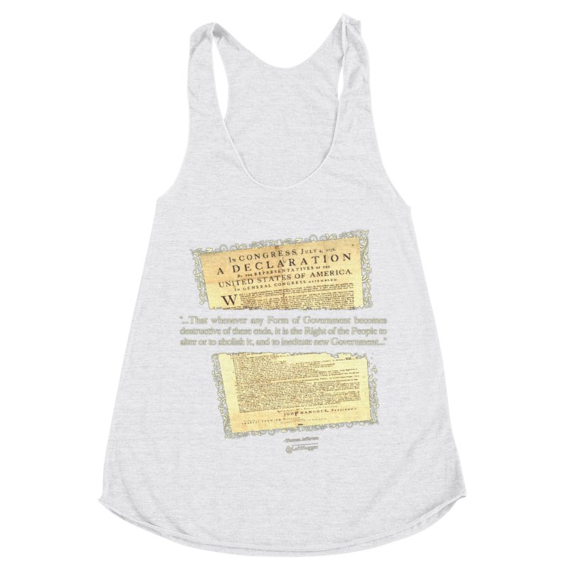 When Government becomes destructive Women's Tank by Lefthugger