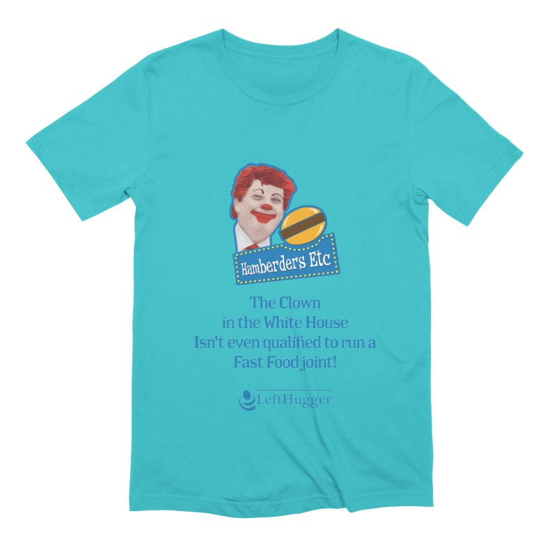 Hamberders Etc Men's Extra Soft T-Shirt by Lefthugger