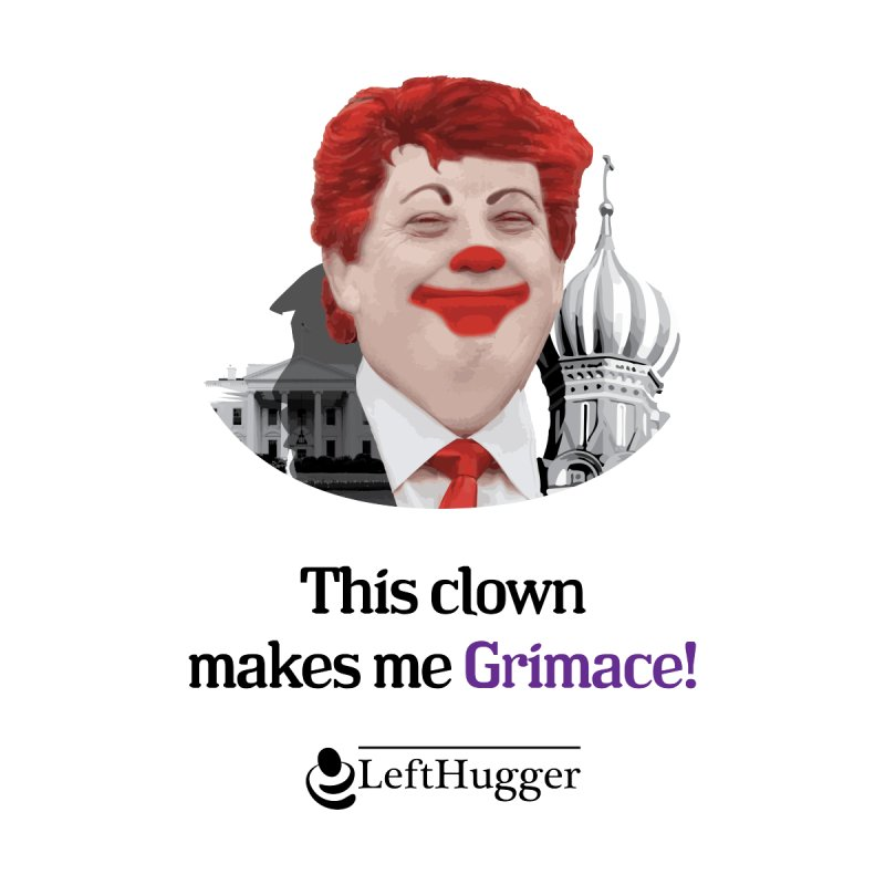 This clown makes me grimace. Women's Longsleeve T-Shirt by Lefthugger