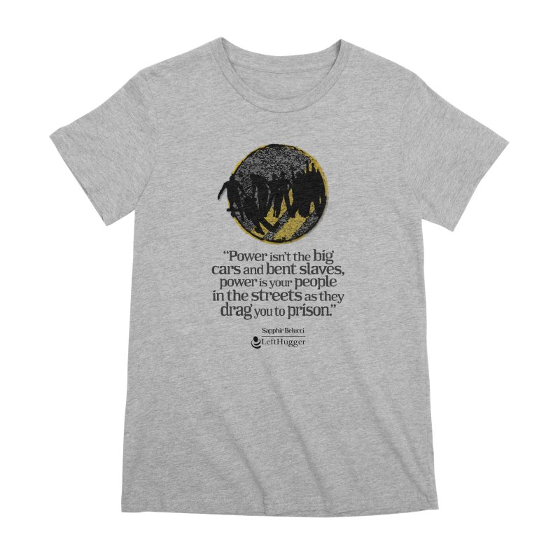 People in the Streets Women's Premium T-Shirt by Lefthugger