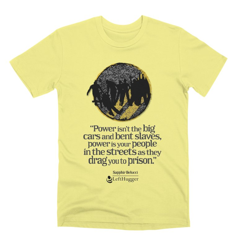 People in the Streets Men's Premium T-Shirt by Lefthugger