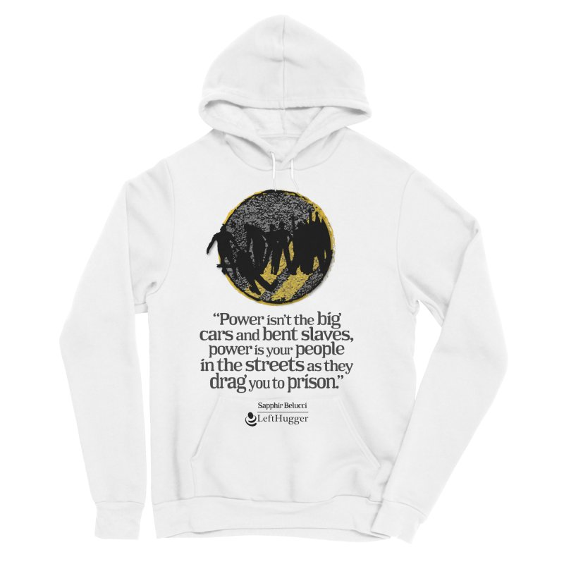 People in the Streets Men's Sponge Fleece Pullover Hoody by Lefthugger