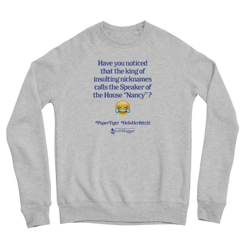 Nancy Men's Sponge Fleece Sweatshirt by Lefthugger
