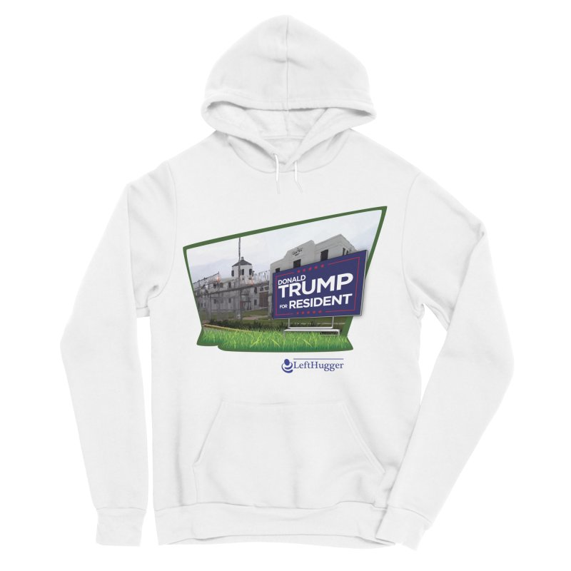 Donald Trump for Resident Men's Sponge Fleece Pullover Hoody by Lefthugger