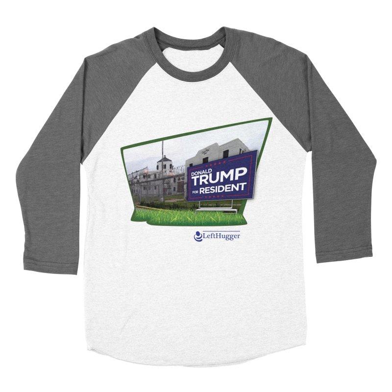 Donald Trump for Resident Women's Baseball Triblend Longsleeve T-Shirt by Lefthugger
