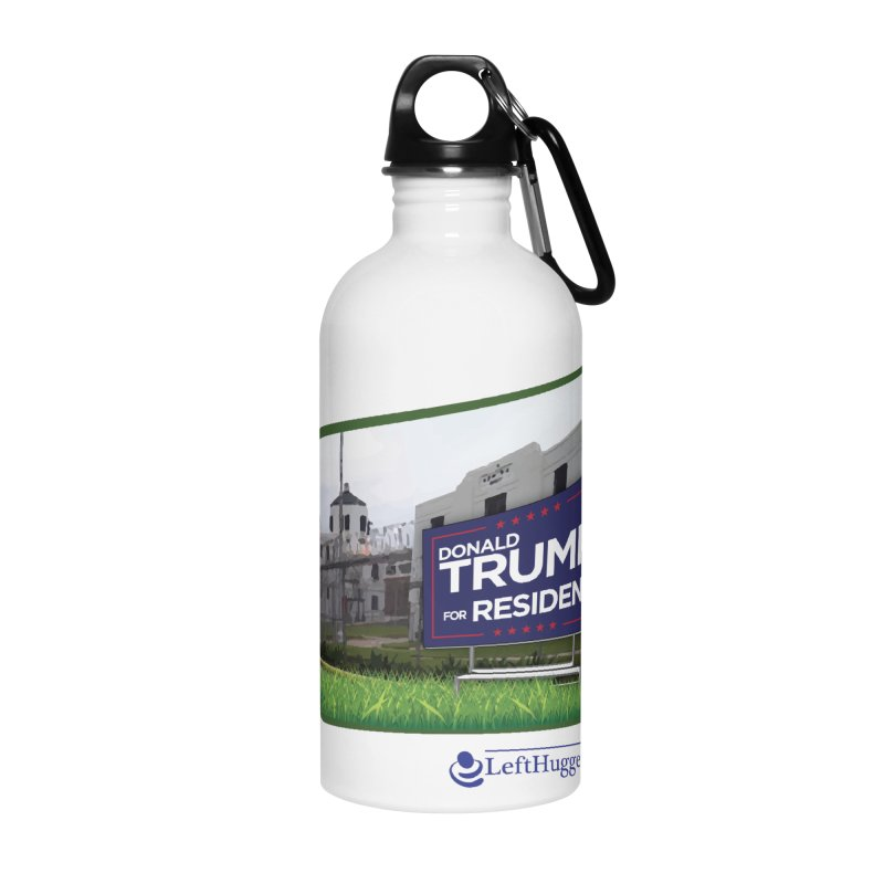 Donald Trump for Resident Accessories Water Bottle by Lefthugger