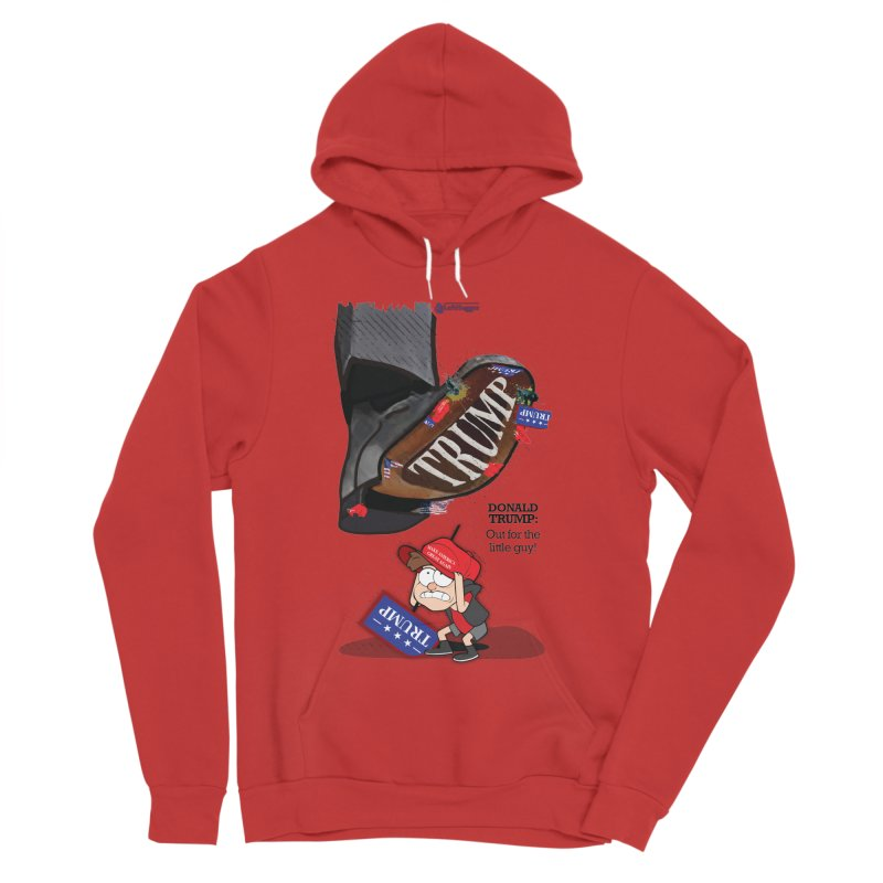 Out for the Little Guy Men's Sponge Fleece Pullover Hoody by Lefthugger