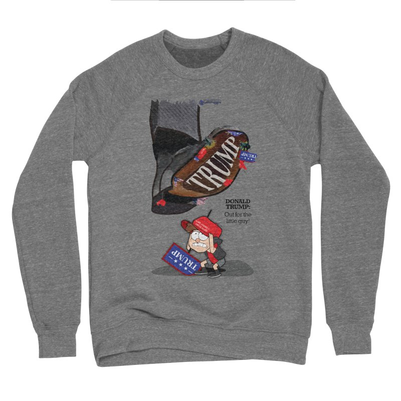 Out for the Little Guy Men's Sponge Fleece Sweatshirt by Lefthugger