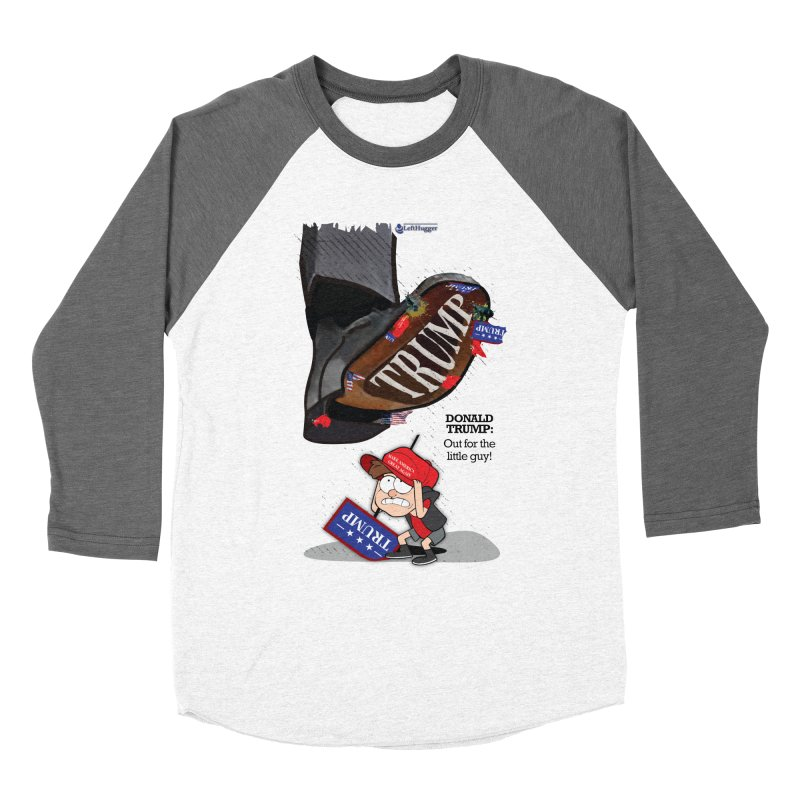 Out for the Little Guy Women's Longsleeve T-Shirt by Lefthugger