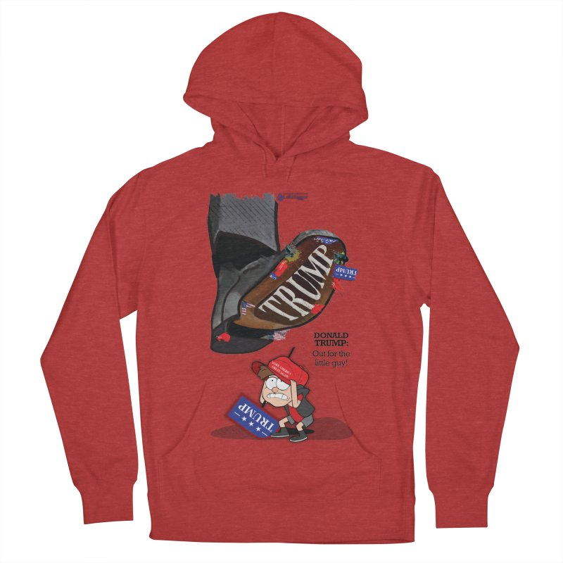 Out for the Little Guy Men's French Terry Pullover Hoody by Lefthugger