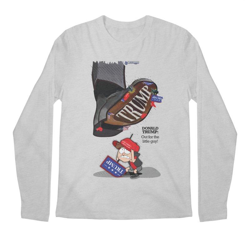 Out for the Little Guy Men's Regular Longsleeve T-Shirt by Lefthugger