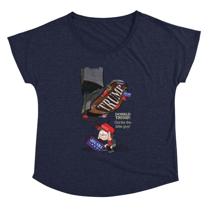 Out for the Little Guy Women's Scoop Neck by Lefthugger