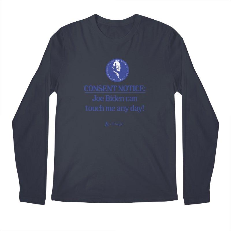 Consent Notice: Men's Regular Longsleeve T-Shirt by Lefthugger