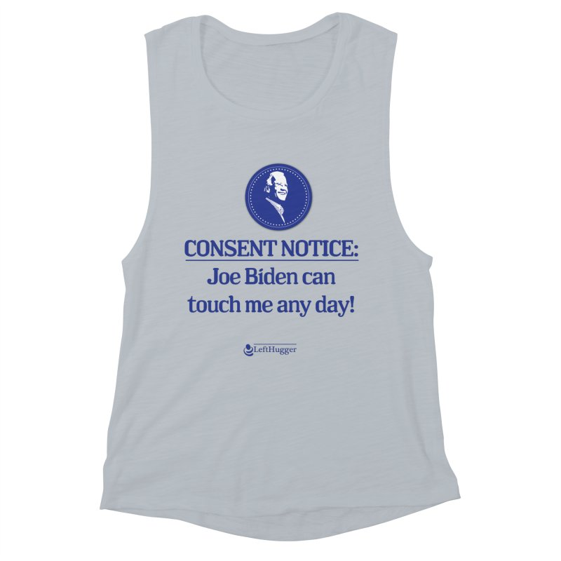 Consent Notice: Women's Muscle Tank by Lefthugger