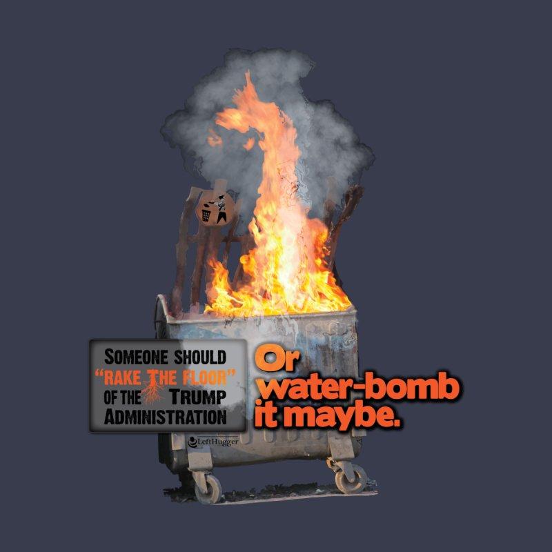 Dumpster Fire! Women's Scoop Neck by Lefthugger