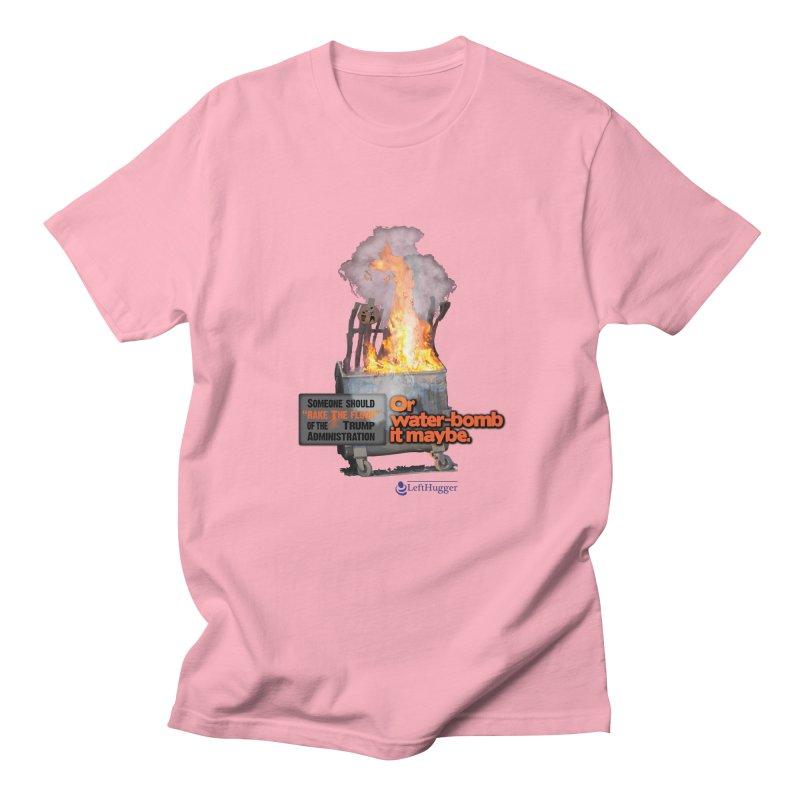Dumpster Fire! Men's Regular T-Shirt by Lefthugger