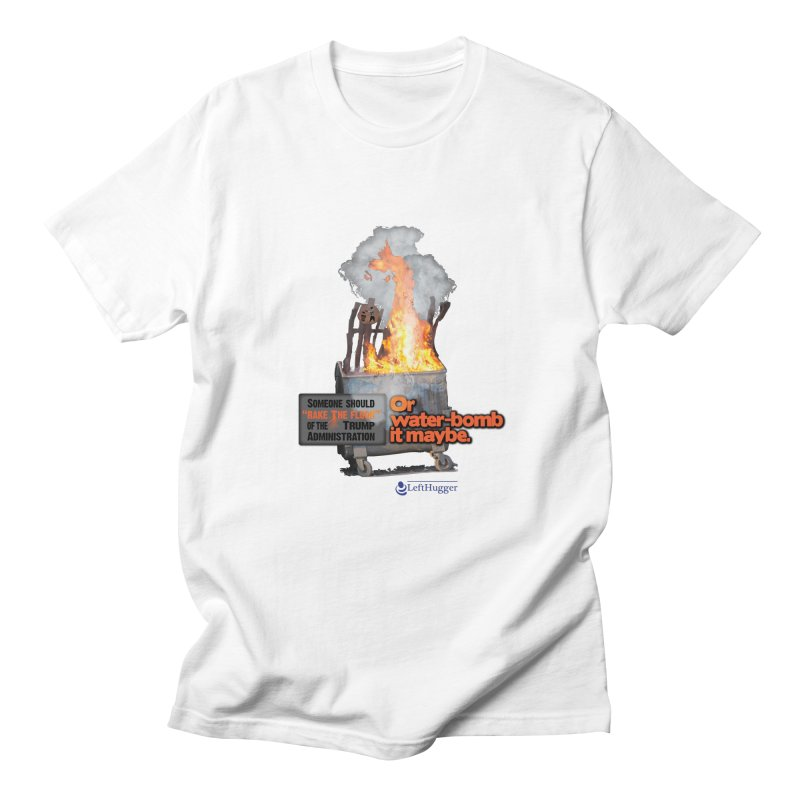 Dumpster Fire! Men's Regular T-Shirt by Lefthugger